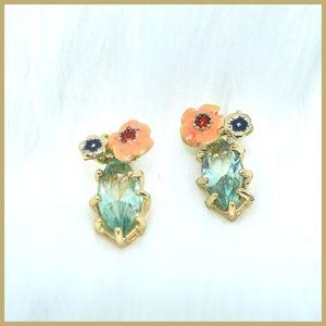 Jewelry - Petite Cactus Crystal Earrings